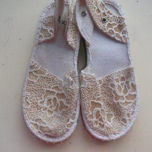 Mexx Beige Shoes Sandals Girl Size 26 (US 8.5)